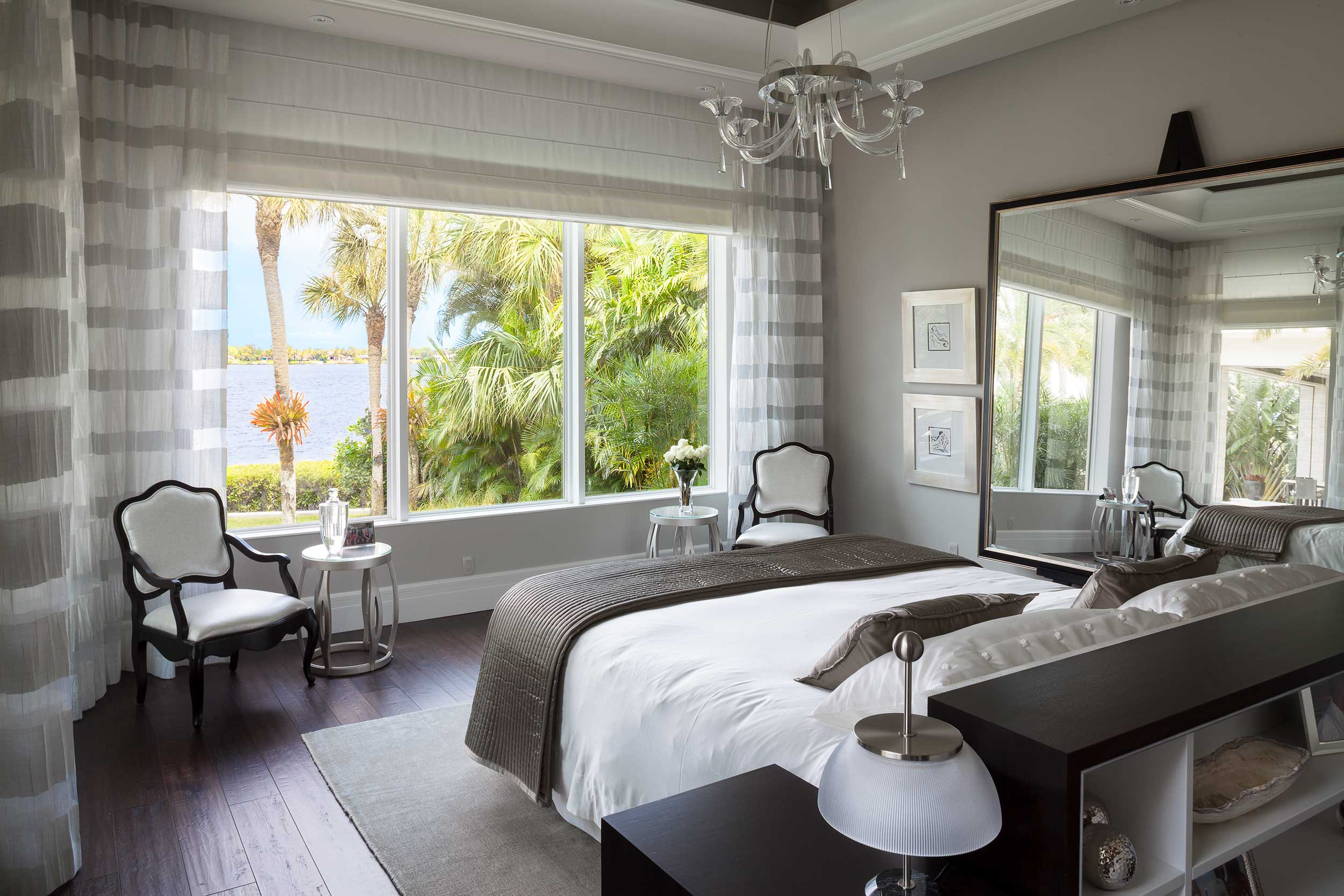 Luxury bedroom with a view Old Palm Golf Club