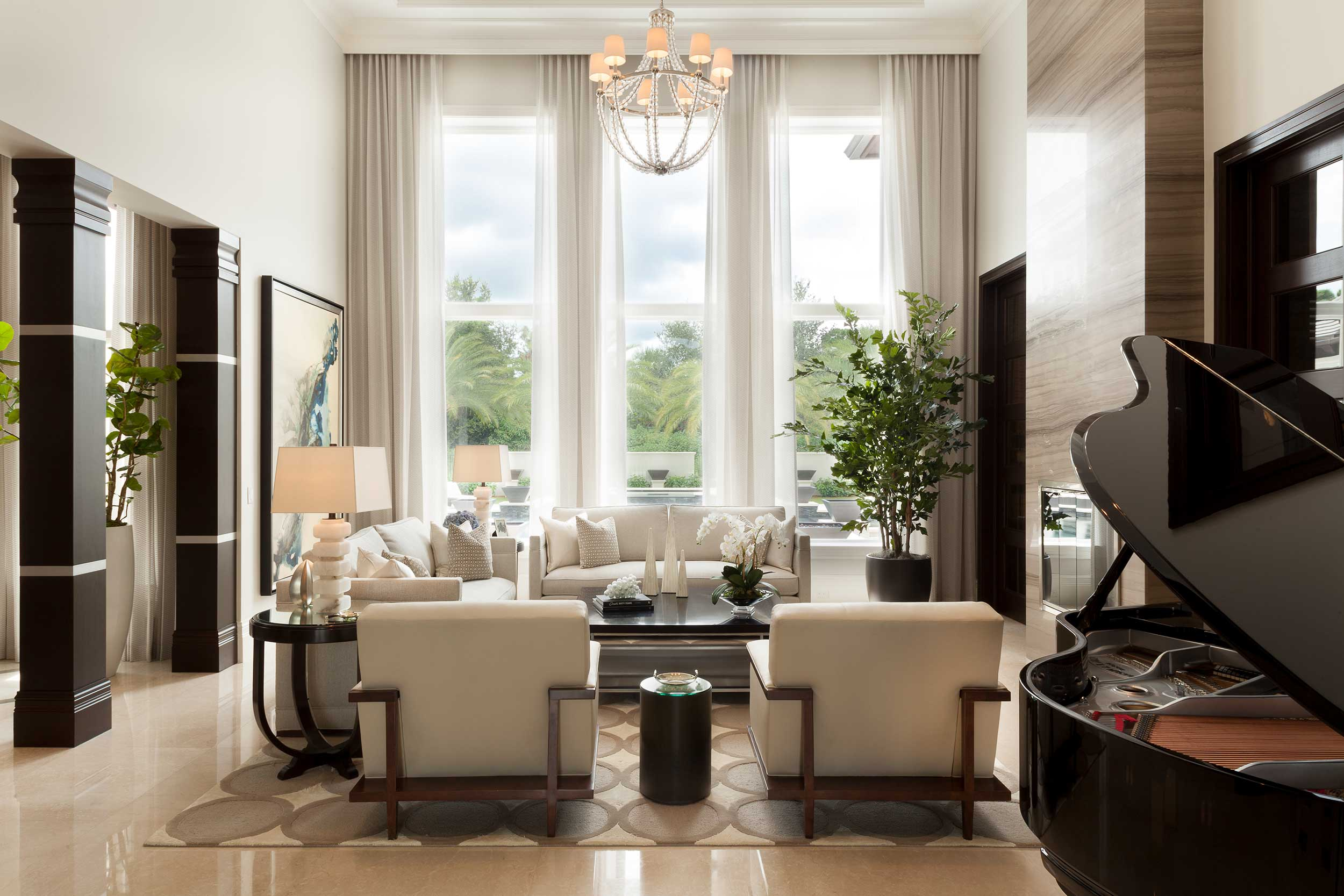 exciting interior design project in Palm Beach