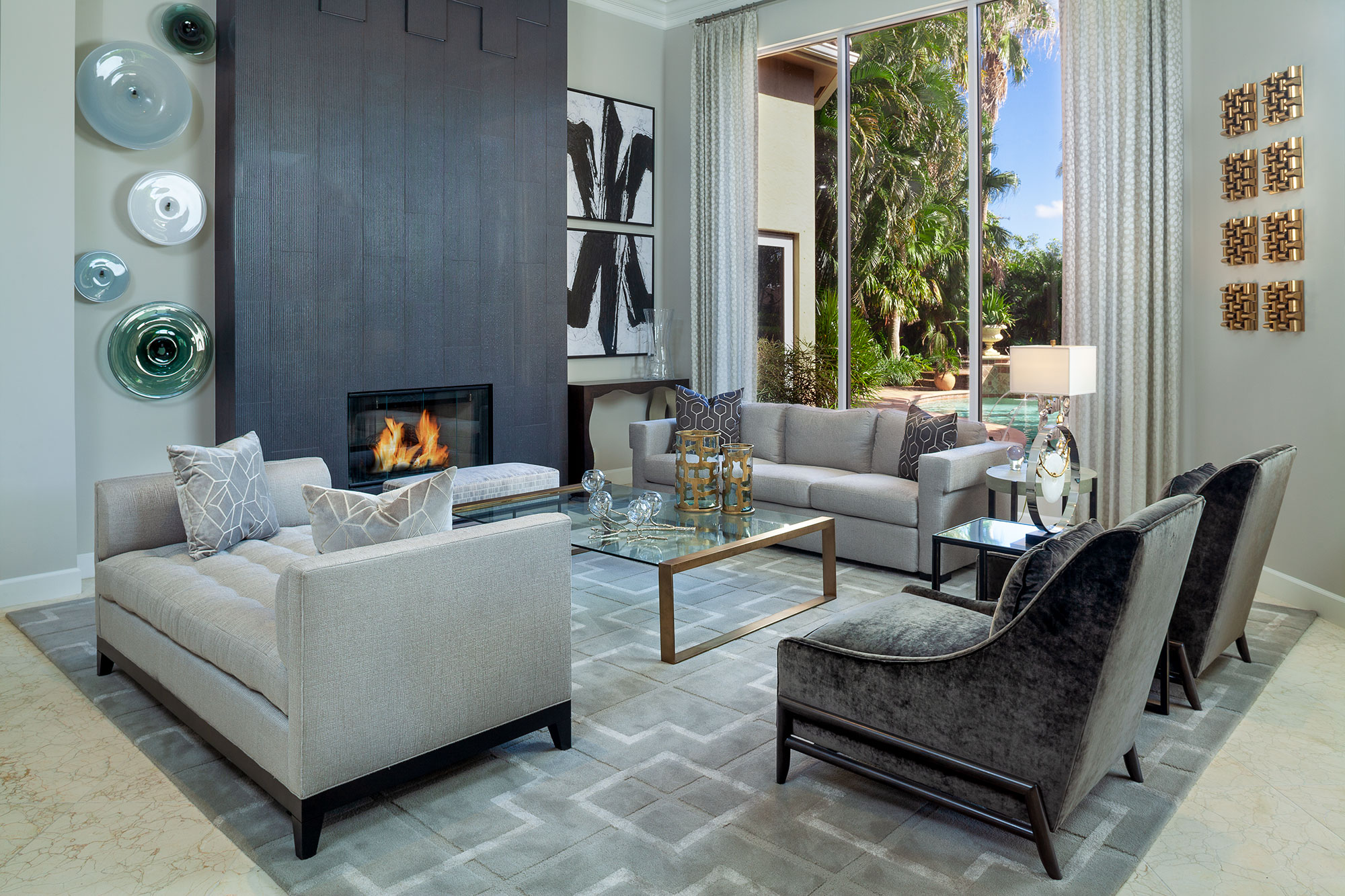 Palm Beach Gardens Interior Design Project