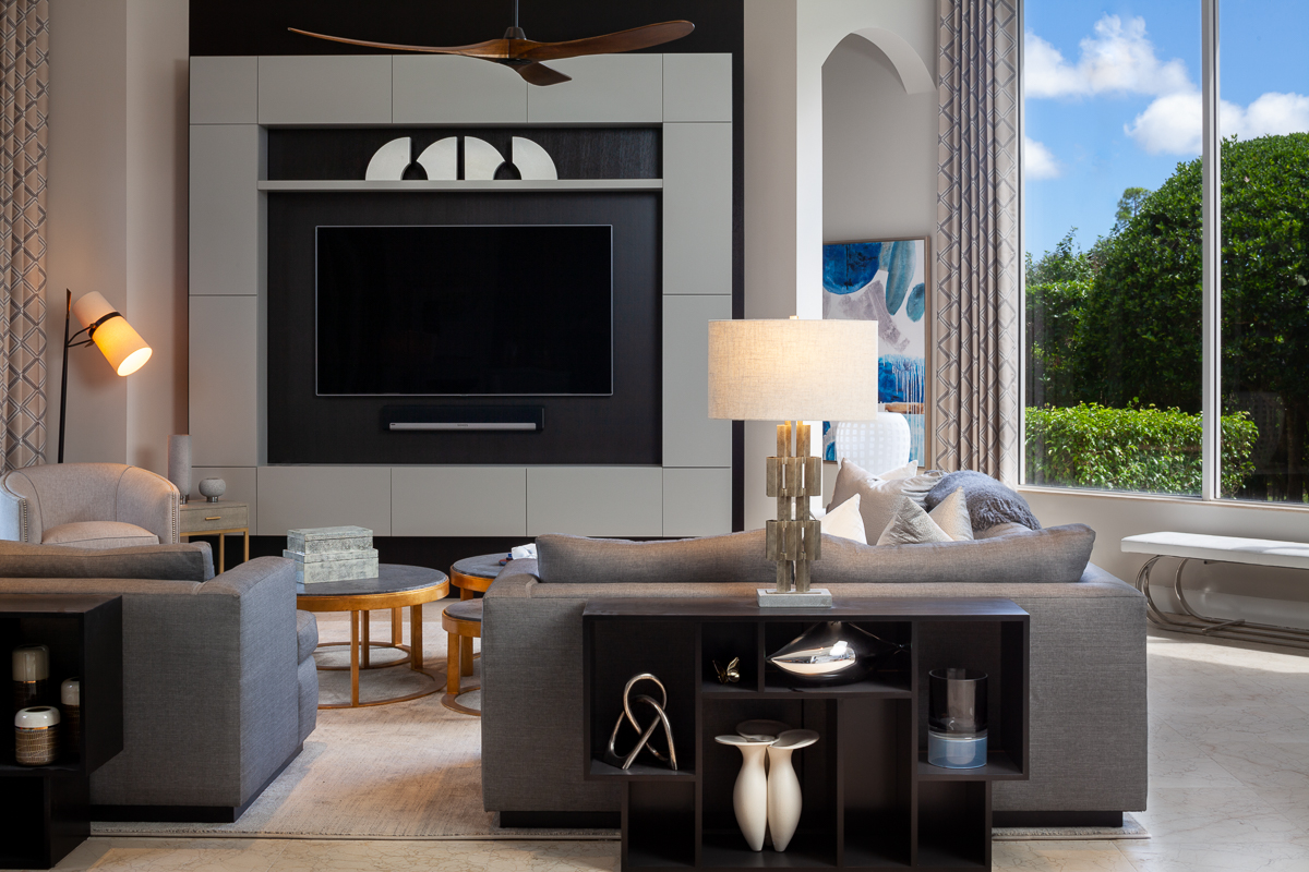 Palm Beach interior design firm project